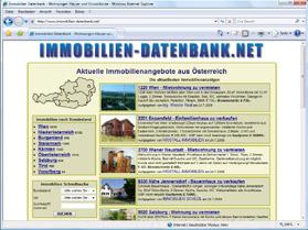 Immobilien-Datenbank