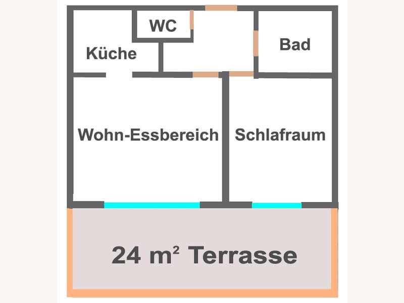 Terrassenwohnung in 9020 Klagenfurt - 9