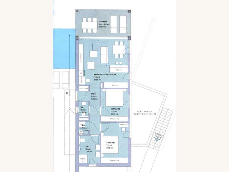Terrassenwohnung in 9220 Auen - 22